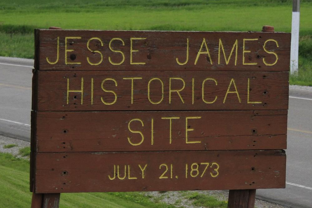 Day 3 - 13 Jesse James sign