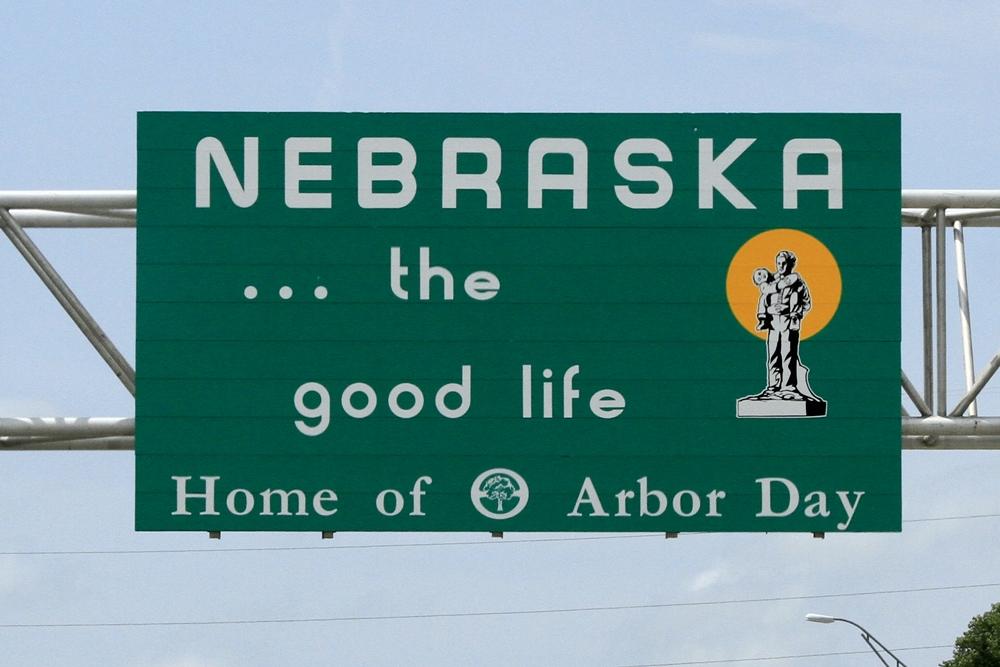 Day 3 - 16 nebraska sign