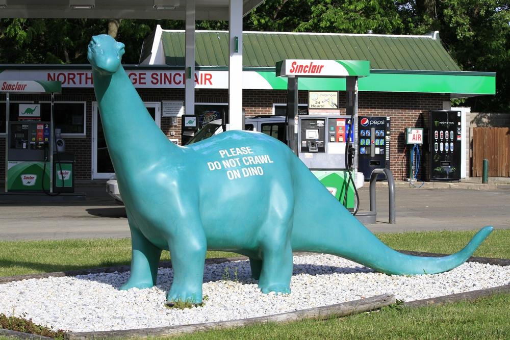 Day 3 - 7 Sinclair dinosaur