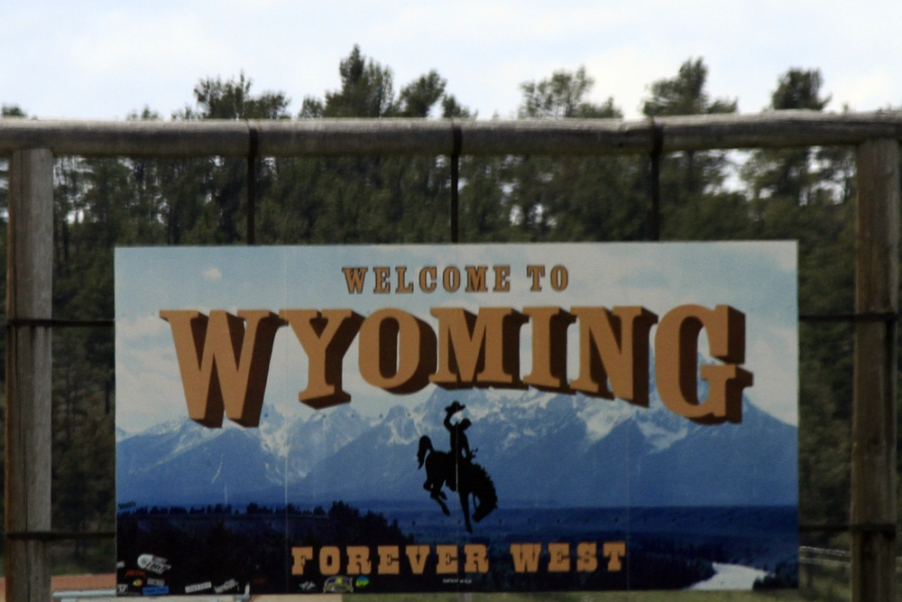 Day 4 - 16 wyoming sign