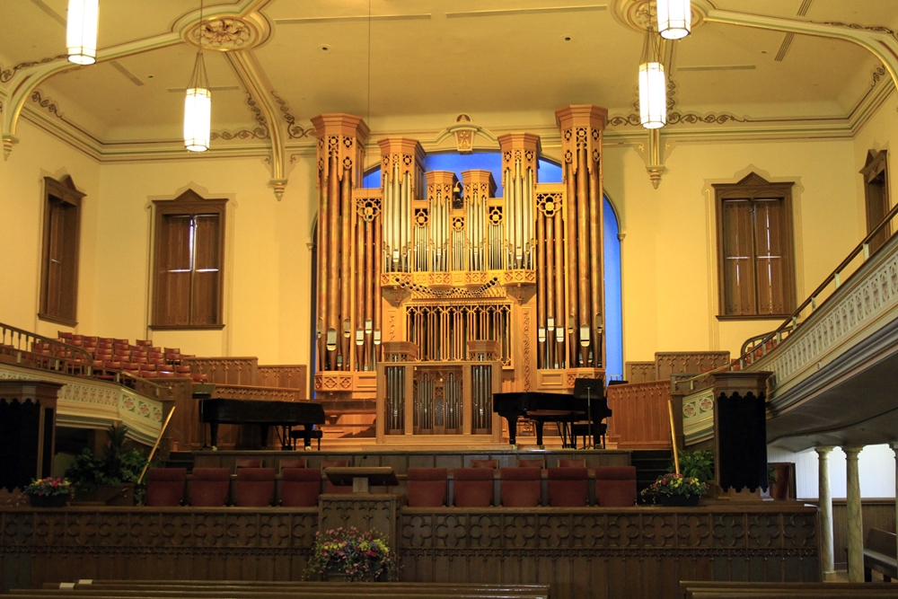 Day 5 - 16 organ in assembly hall