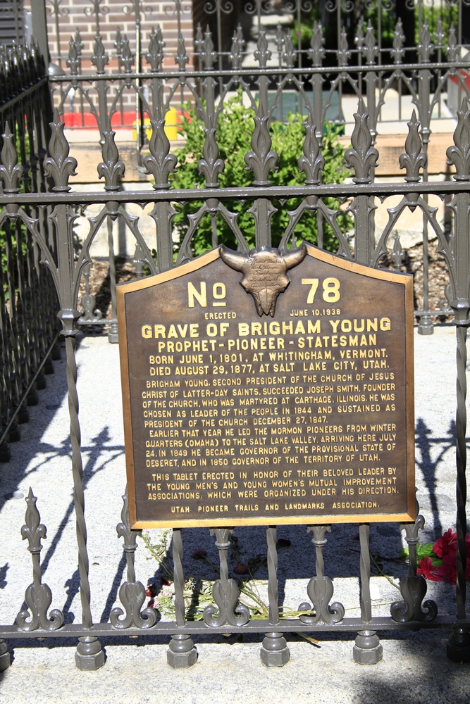 Day 5 - 20 brigham young grave