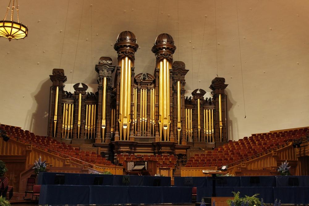 Day 5 - 24 mormon tabernacle